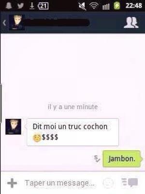 Jambon c'est cochon !